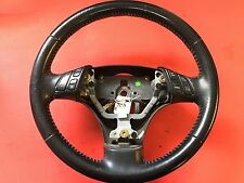 2003-2008 MAZDA 6 STEERING WHEEL LEATHER WITH CRUISE RADIO CONTROL USED OEM!