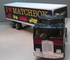 Matchbox Convoy   CY08-C2 Kenworth COE - I Heart Matchbox - Black & White
