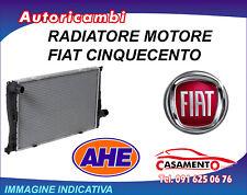 RADIATORE MOTORE AHE FIAT 500 1.4 16V 74KW DAL 7/2007 IN POI