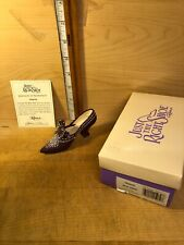 """Just The Right Shoe By Raine """"Majestic"""" 25039 With Coa & Box"""