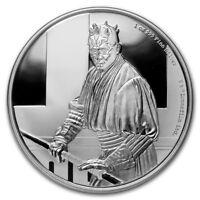 Niue -2018- 1 oz Silver Proof Coin- Star Wars Classic:  Darth Maul