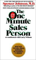 The One Minute Sales Person by Spencer Johnson