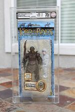 2004 AFA 75 Toybiz Lord of the Rings ROTK LOTR Gorbag w/webbed Frodo
