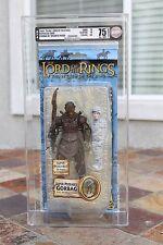 2004 AFA 75 Toybiz Lord of the Rings ROTK LOTR Gorbag w/webbed Frodo