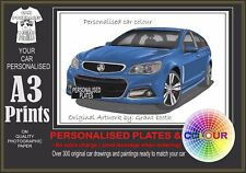 20015 VF SS STORM WAGON  A3 ORIGINAL PERSONALISED PRINT POSTER CLASSIC RETRO CAR