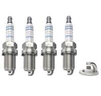 Spark Plugs x 4 Bosch Fits BMW 3 Series E30 316i 318i Saloon Estate Convertible