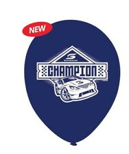 super cars balloons birthday party decorations supercars racing v8 champion blue