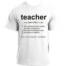 Profession Definition Funny Teacher T Shirt, Great Teacher Gifts For Men
