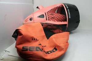 SHARPER IMAGE SEADOO SEA SCOOTER w/ BAG - NO BATTERY - AS IS