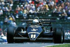 Elio DE ANGELIS JPS Lotus 93T CANADIAN GRAND PRIX 1983 fotografia 1