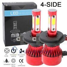 H4 HB2 9003 4-Sided CREE 5000W 936000LM LED Headlight Kit Hi/Lo Power Bulb 6500K