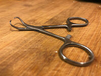 Jig Eye Cleaner Clearing Tool Forcep Hemostat Lure Painting Powder Paint Buster