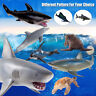 Ocean World Sea Life Animals Whale Shark Model Realistic Rubber Figures Kids Toy