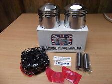 Triumph T140 pistons 71-3676 76mm  standard