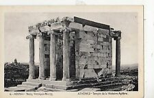 Bf19058 temple of the aptere victory athenes greece front/back image