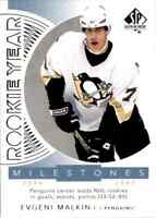 2017-18 Upper Deck SP Authentic Rookie Year Milestones Evgeni Malkin #RYM-EM