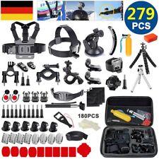 279-IN-1 Action Kamera Zubehör Set für GOPRO HERO 8 7 6 5 4 3+ AKASO SJCAM SONY