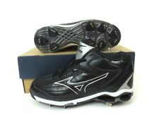 Men's MIZUNO 9 SPIKE Classic MID G5 Baseball Cleats 320323-9090 Shoes Sz 8
