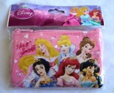 Pink Disney Princesses Lanyard Zipper Wallet Pouc Fast Pass ID Badge Holder :o)