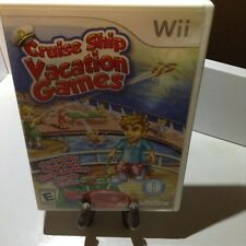 Cruise Ship: Vacation Games (Nintendo Wii, 2009)