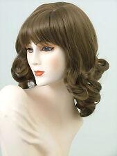 Long Wigs Alluring Big Curls   Light Golden  Brown    AL22
