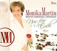 MONIKA MARTIN - MEINE GROßEN ERFOLGE-NUR FÜR EUCH  3 CD NEU