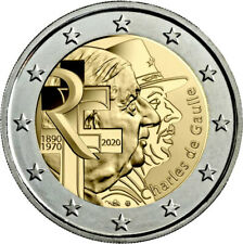 2€ FRANCIA 2020 - DE GAULLE - SIN CIRCULAR