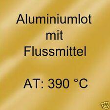 Aluminiumlot mit Flussmittelfüllung Abm. 2,0x1.000 mm