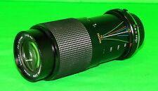 Vivitar 70-210mm f3.5-5.6 Macro Zoom for Minolta M/MD Manual Focus Camera EUC
