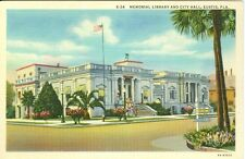 Eustis, Fl. The Memorial Library and City Hall