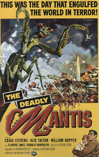 The deadly mantis années 1950 b movie poster A3 réimpression