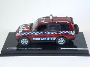 Mitsubishi Pajero Australia Police. 1:43 Scale. Vitesse Die Cast. #29322. Ltd