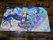 Yugioh Win a Mat 2018 Mai Valentine Harpie Perfumer / Oracle Playmat Rubber Play