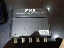 TV Link Global F140 4 way Professional Distribution Amplifier