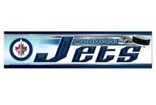 "Winnipeg Jets Official NHL 12"" x 3"" Bumper Sticker Strip by Wincraft"