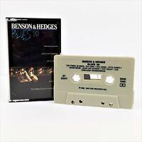 Benson & Hedges Blues '90 Audio Cassette Tape 1990 CBS Records
