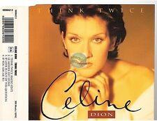 CELINE DION think twice CD MAXI uk