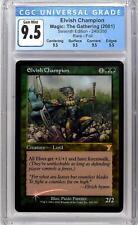 ELVISH CHAMPION Seventh 7th Edition Foil CGC 9.5 QUAD Graded MTG [Card Kingdom]