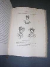 Costume L'art dans la parure et le vètement C. Blanc 1875 reliure gravures