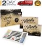 Calligraphy Pen Set Starter Kit Letters Ink Cartridge Practice Pad Included, New
