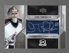 2006-07 Upper Deck Cup Jose Theodore Scripted SWatches #18/25