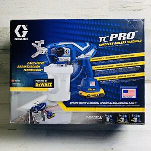 Graco 17N166 TC PRO Cordless Sprayer New