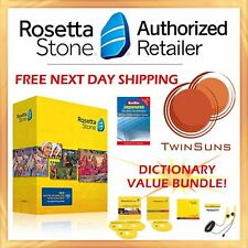 Rosetta Stone® LEARN JAPANESE 1 2 3 CD SET + DIGITAL DOWNLOAD + HEADSET + BONUS!