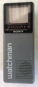 """Vintage 1986 Sony Watchman Model FD-10A - 2"""" Screen"""