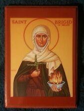 EASTERN ORTHODOX CHRISTIAN ICON OF ST. BRIGID