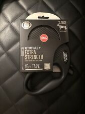 Great Choice Retractable Extra Strength XLarge 16ft Dog Leash Black  NEW