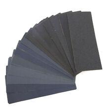 45 PCS Papier de Verre Abrasif 23cmx9.1cm 80-3000 15xgrains multi-applications