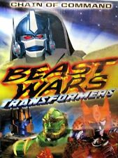 Beast Wars Transformers:Chain of Command NEW! DVD Childrens ,7 episodes,Optimus