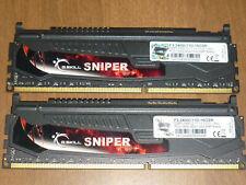 G.Skill Sniper 16GB (2x8GB) Kit DDR3 2400 PC3-19200 240-Pin RAM Memory