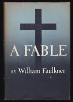 1954 Vtg William Faulkner A Fable Southern Literature First Edition 1st Printing